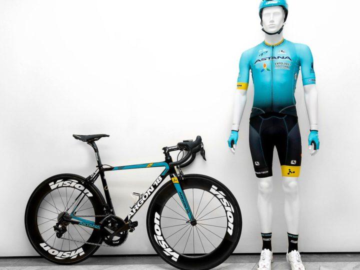 Nuestro regreso al UCI World Tour con Astana